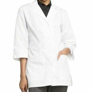 Cherokee 1470 3/4 Sleeve White Lab Coat NWT